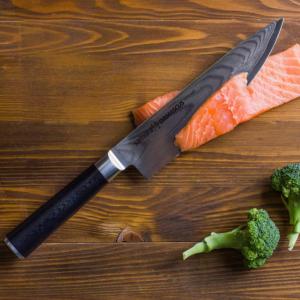 SAMURA DAMASCUS. Обзор серии надежных ножей из дамасской стали