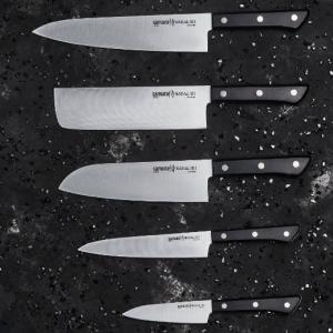 SAMURA HARAKIRI SHR-0250. Обзор коллекции из пяти ножей от японских мастеров