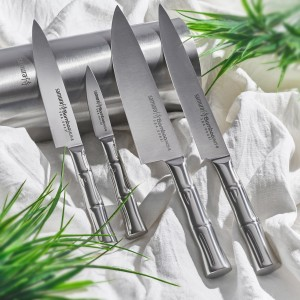 SAMURA BAMBOO. Обзор серии кухонных ножей с японскими мотивами